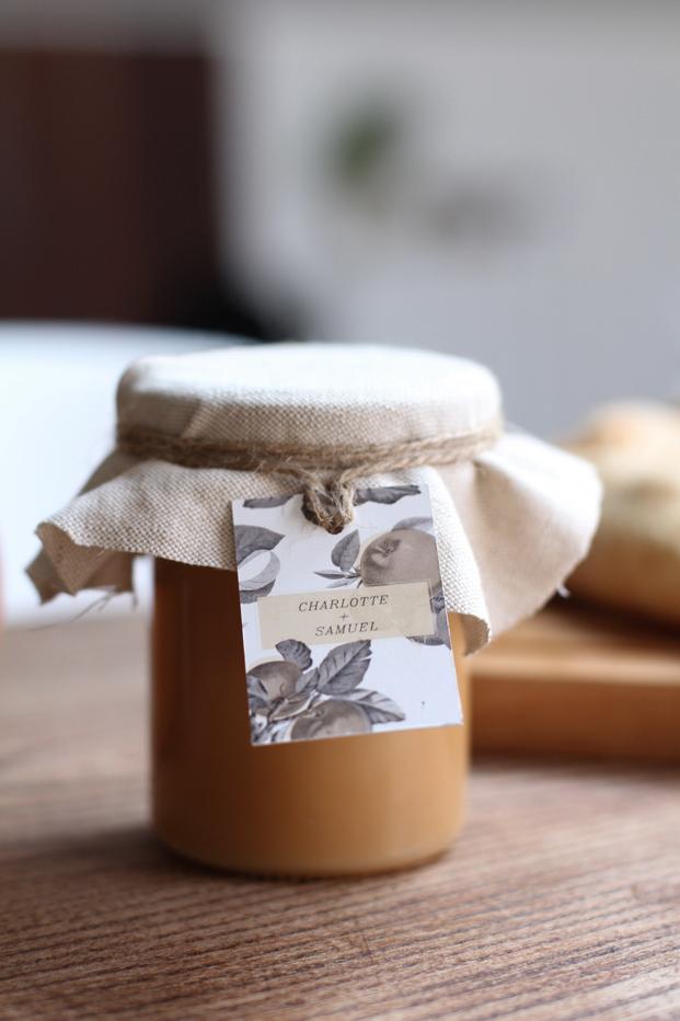 Besly recette Tarte aux pommes poires & cannelle