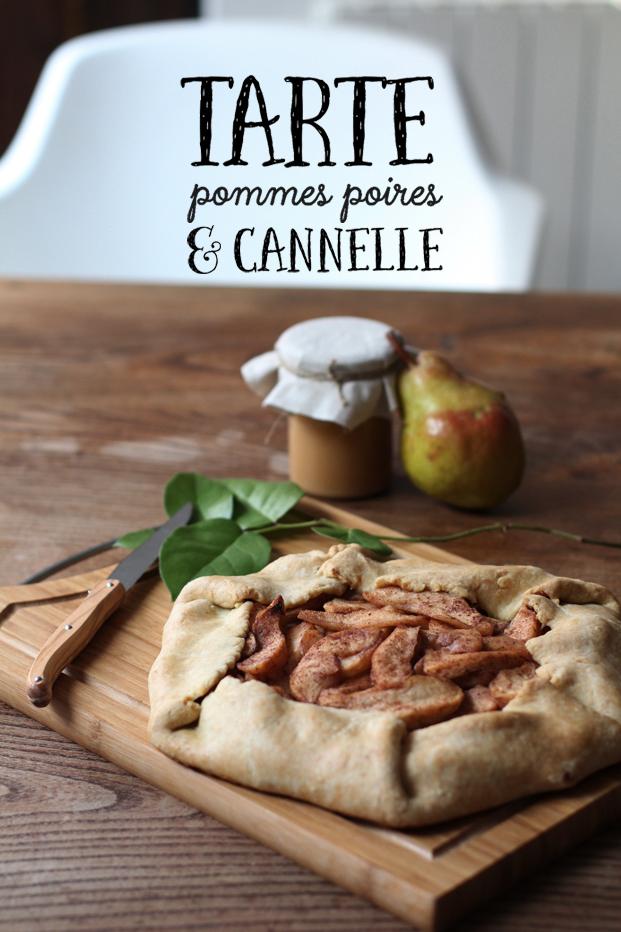 Tarte pommes poires et cannelle pour changer de vie besly - Comment couper des pommes pour une tarte ...