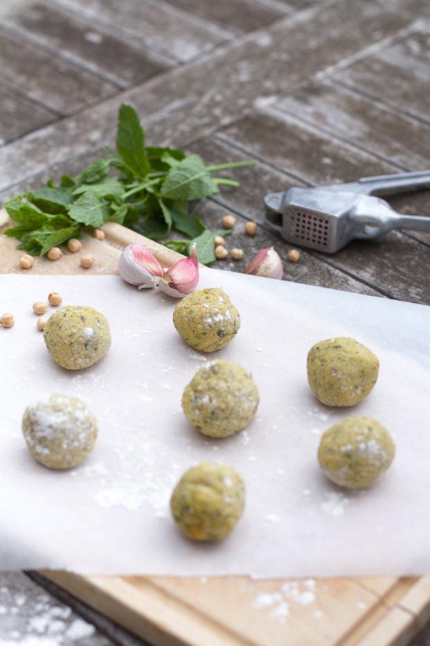 Besly recette falafels