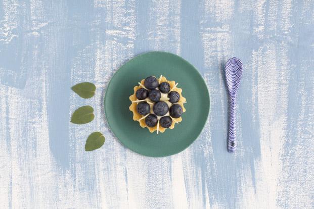 Tartelette aux myrtilles - Besly