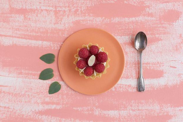 Tartelette aux framboises - Besly