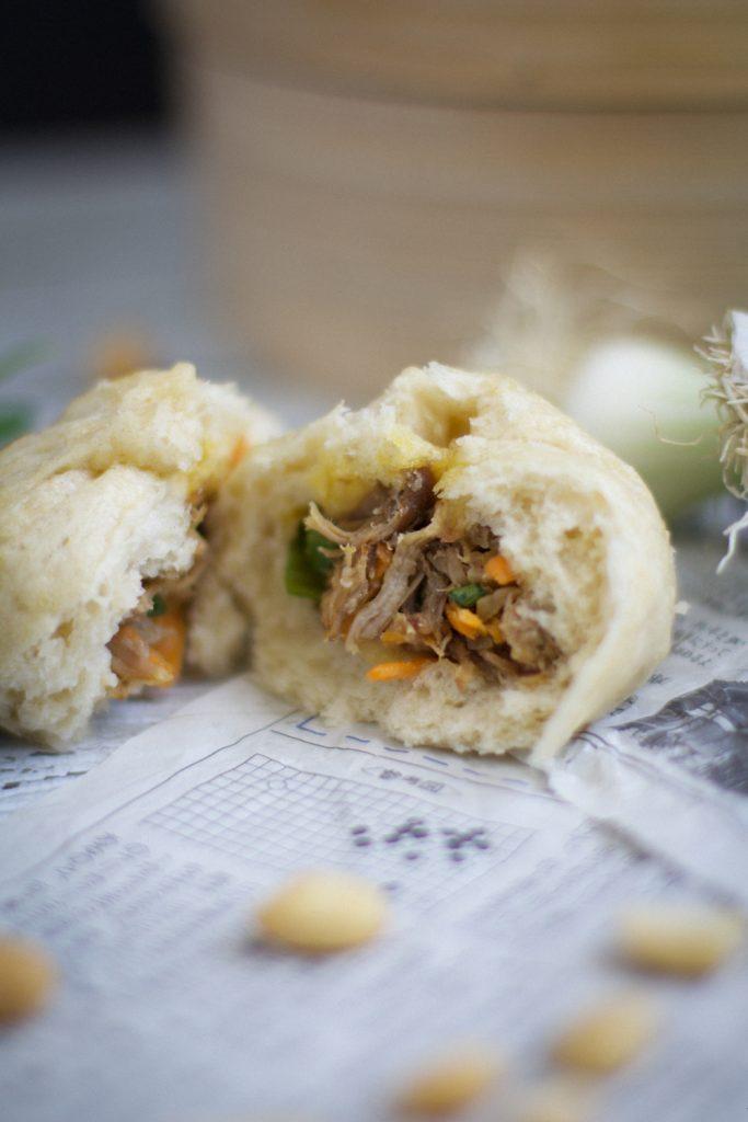 Bao porc effiloché recette stylisme culinaire - Besly -
