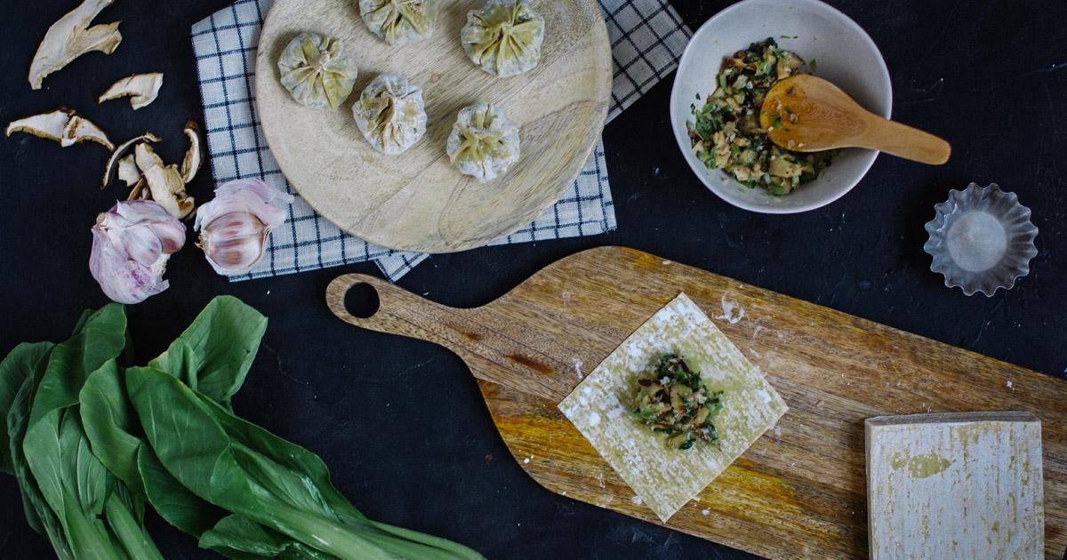 raviolis vapeur recette et stylisme culinaire Besly