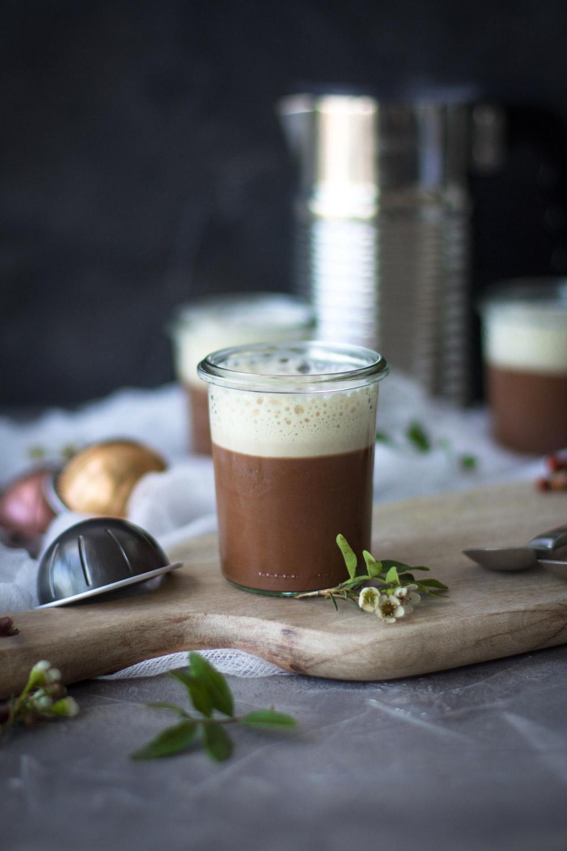 Dessert Gourmand au chocolat avec Nespresso par Besly blog de cuisine et stylisme culinaire