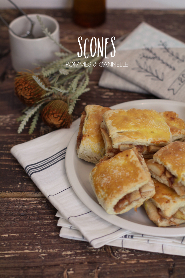 Scones Pommes Cannelle Recette Besly