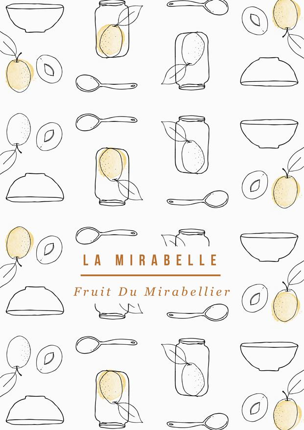 Besly Illustration Tartelettes Aux Mirabelles