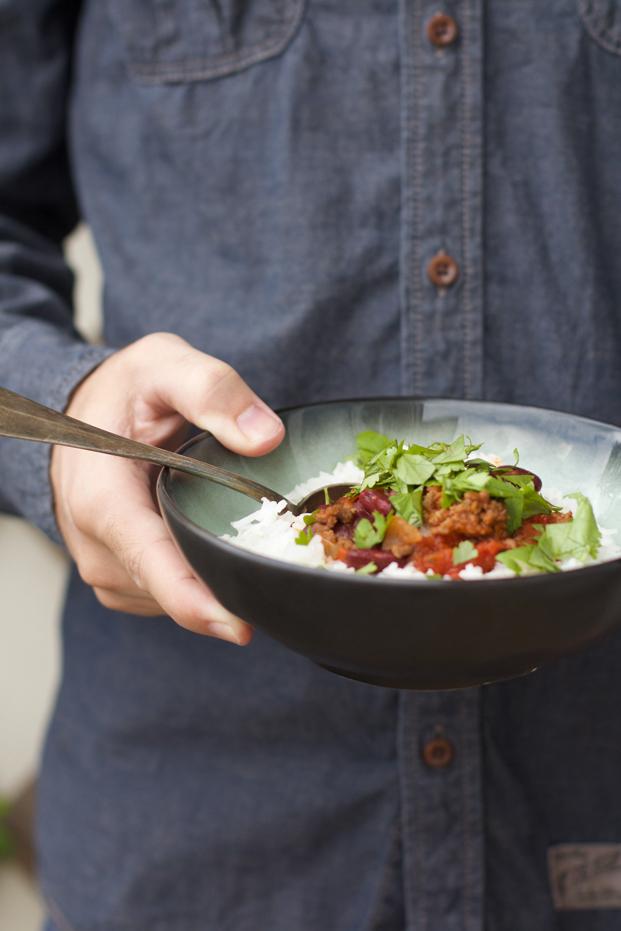Recette de chili con carne Besly