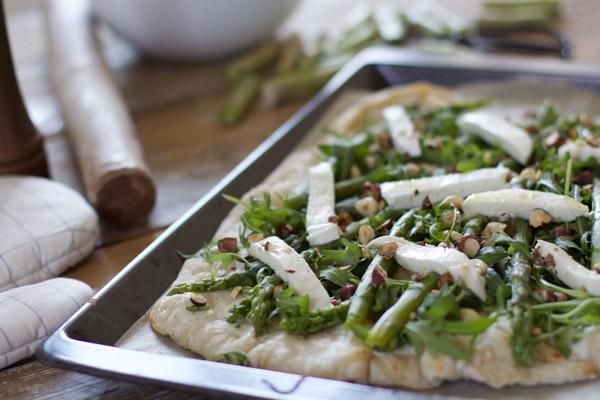 Pizza maison aux airs de printemps - Besly -