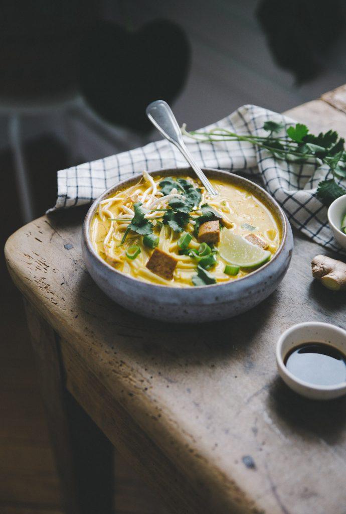 Recette soupe thaï Styliste culinaire Lyon Besly