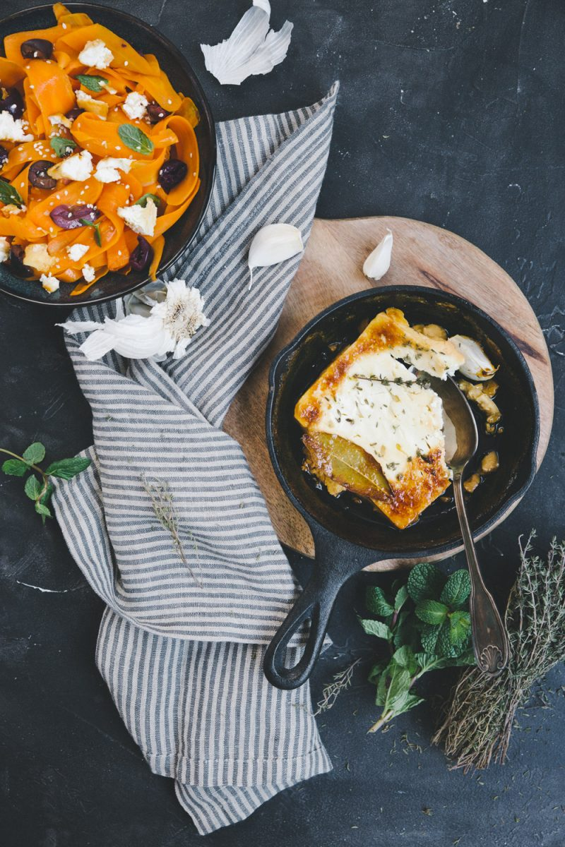 feta rôtie salade de carottes Styliste culinaire Lyon Besly