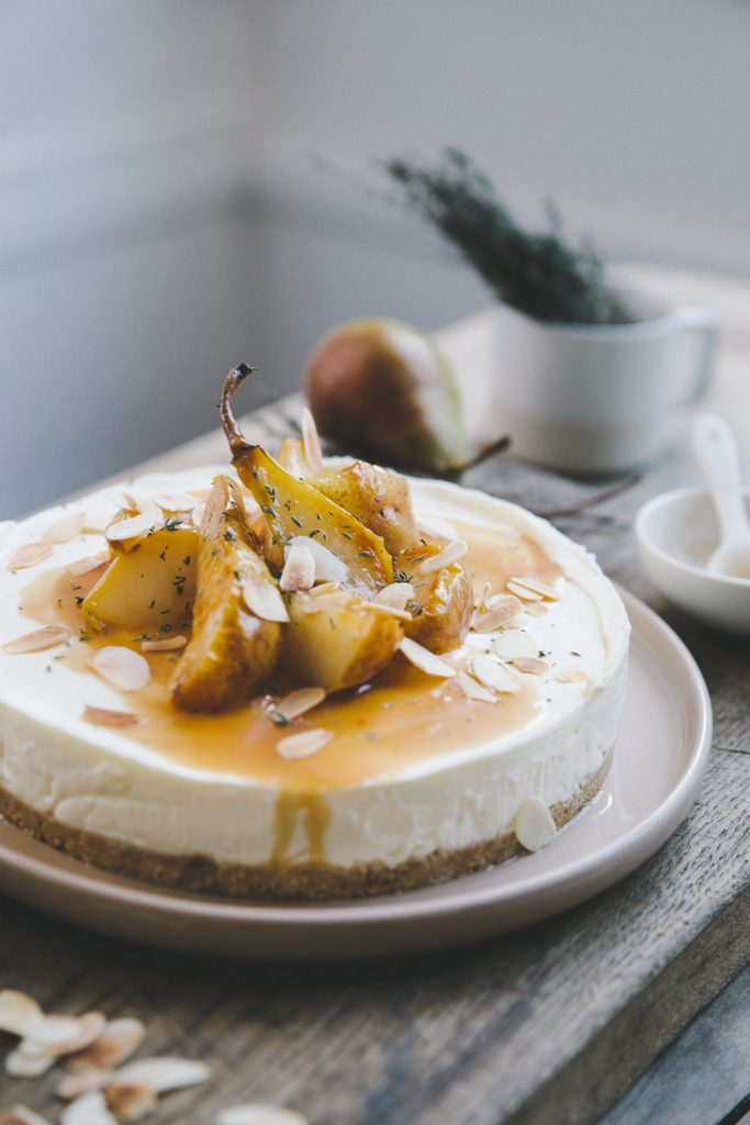 Cheese cake sans cuisson Styliste culinaire Lyon Besly