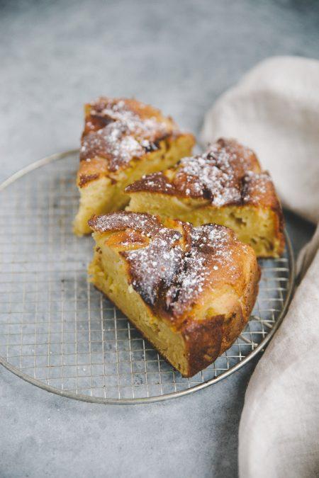 Gâteau aux pommes Besly Styliste culinaire Lyon