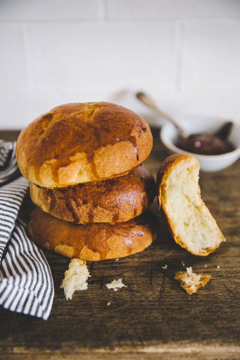 Recette pains au lait Styliste culinaire Lyon Besly