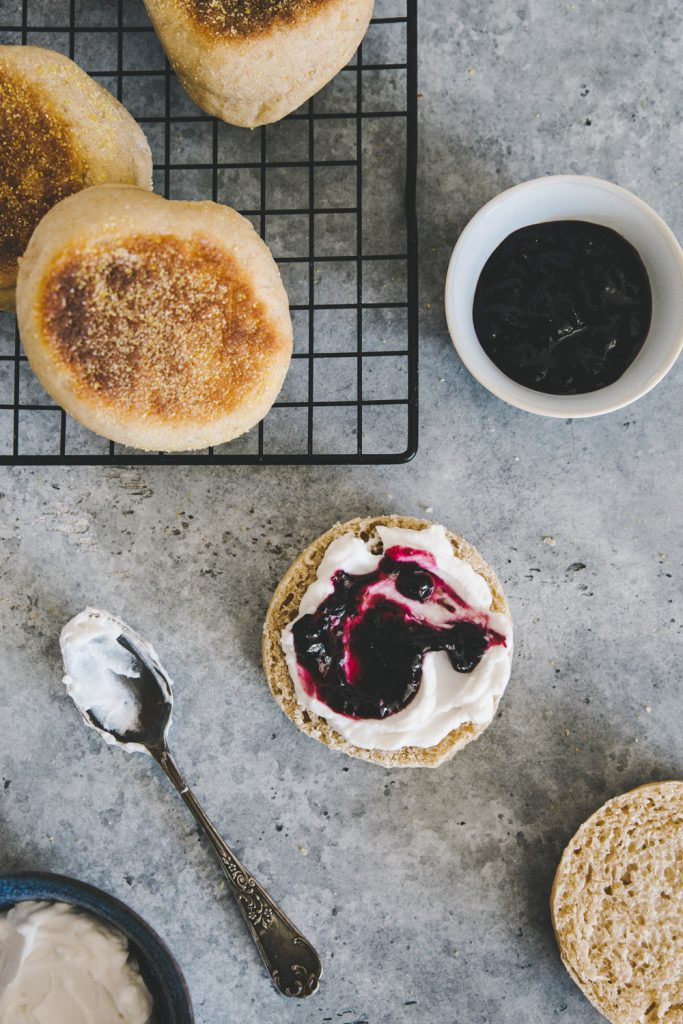 Recette english muffins Styliste culinaire Lyon Besly