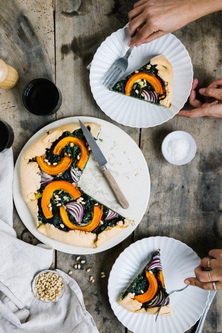 Tarte aux légumes d'automne Styliste culinaire Lyon Besly
